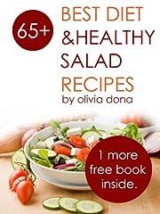diet vegan recipes -healthy salad recipes book for healthy life (vegan recipes books 1)