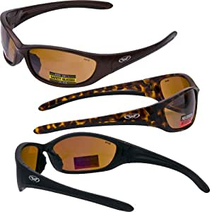 Definition Of Glasses Frame : Hole In One High Definition Safety Glasses COPPER/BRONZE ...