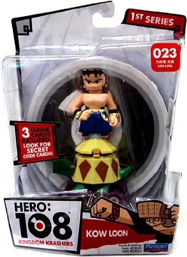 Hero 108 Kingdom Krashers Series 1 Action Figure #023 Kow Loon - 1