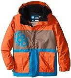 686 Boy's Elevate Insulated Jacket, X-Large, Burnt Orange Colorblock