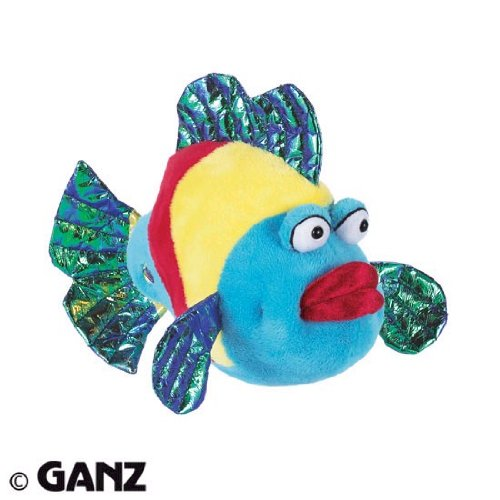 Webkinz Pucker Fish with Trading Cards - 1