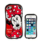 iPhone SE ケース iPhone5s/5 ケース カバー ディズニー iface First Class 正規品 ストラップホール / ミニーマウス