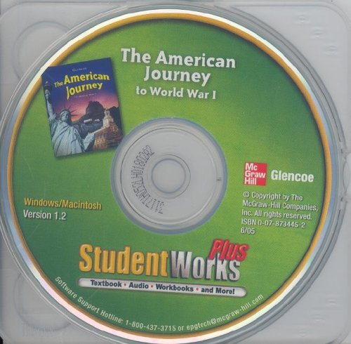 The American Journey to World War 1, StudentWorks Plus! (MS WH JAT BUILDING AMERICA)