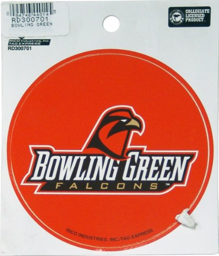 NCAA Bowling Green Falcons Round Decal