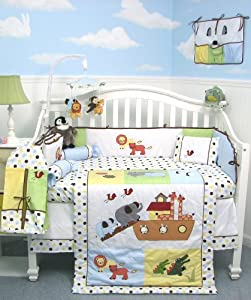 Soho Noahs Ark Baby Bedding