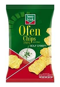 Funny-Frisch Ofen Chips Sour Cream, 5er Pack (5 x 150 g)