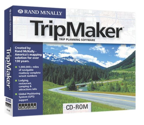 Rand McNally TripMaker Jewel CaseB0000AFVEO