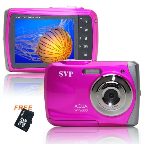 18MP Pink WP6800 (Micro 16GB) 2.4