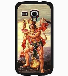 ColourCraft Lord Hanuman Design Back Case Cover for SAMSUNG GALAXY S3 MINI I8190