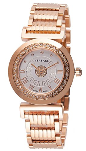 Versace-Womens-P5Q84SD002-S080-Vanity-Precious-Analog-Display-Swiss-Quartz-Gold-Watch