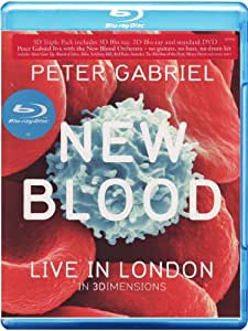 Peter Gabriel New Blood Live In London In 3 Dimensions [Blu-ray 3D] [2011]