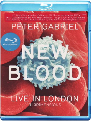 Peter Gabriel - New Blood - Live In London [Blu-ray + Blu-ray 3D + DVD]