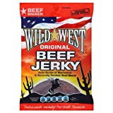 Wild West Original Beef Jerky 25g (Pack of 8)