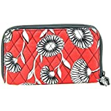 Vera Bradley Zip-Around Wallet Womens Fabric Wallet