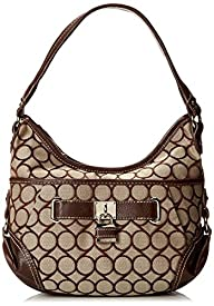 Nine West 9s Jacquard Hobo Small Hobo Handbag