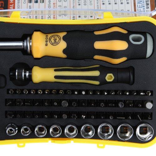 KKMOON 66-en-1 matériel professionnel vis Driver Tool Kit