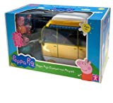 Peppa Pig's Large Campervan Playset - Peppa Pig Caravan & 4 Figures