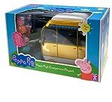 Peppa Pig's Large Campervan Playset - Peppa Pig Caravan & 4 Figures