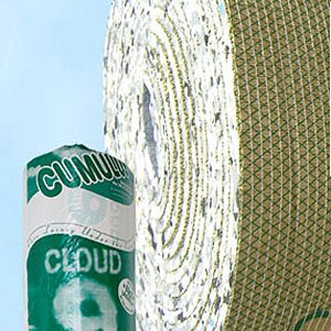 Cloud 9 Cumulus 11mm PU Foam Carpet Underlay 15sqm Thick Luxury Underlay Rolls