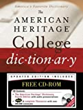 img - for The American Heritage College Dictionary, Fourth Edition with CD-ROM (4th Fourth Edition) [Hardcover] book / textbook / text book