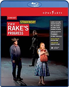 Igor Stravinsky The Rakes Progress Blu-ray 2007region Free from OPUS ARTE