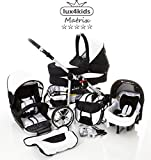 Chilly Kids Matrix II Kinderwagen Komplettset (Autositz &...
