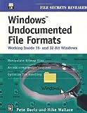 Windows Undocumented File Formats; Working Inside 16- and 32- bit Windows