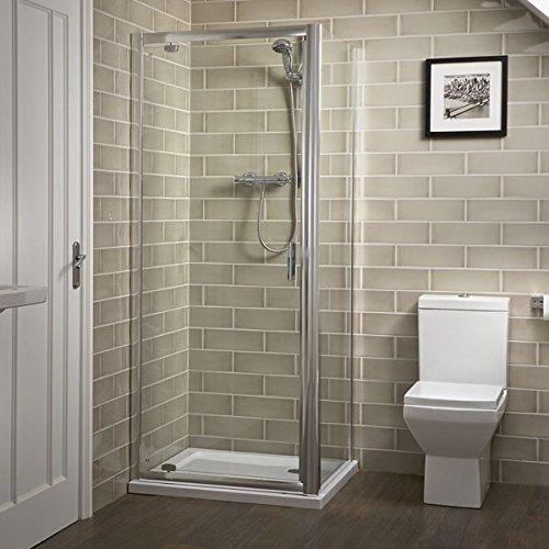 Pivot Shower Door 700mm - 6mm Glass Panel Bathroom Enclosure Screen