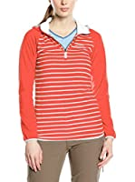 Craghoppers Chaqueta Half Zip Hooded (Coral)