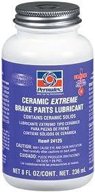 Permatex 24125-6PK Ceramic Extreme Brake Parts Lubricant, 8 oz. (Pack of 6)