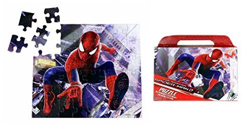 "Marvel Spider-Man Floor Puzzle Gift Box (48-Piece) 9.1"" x 10.3"""