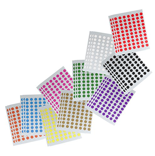 2100-8mm-coloured-sticky-dot-labels-self-adhesive-circles-luggage-colour-coding-labelling-school-mer