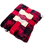 Deluxe Reversible Plush Throw Blanket