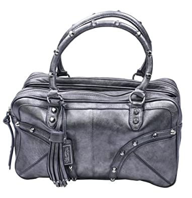 CHRISTIAN AUDIGIER Marie Faux Leather Womens Handbag Black