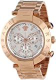 Versace Men's VA8040013 Reve Chrono Rose Gold Ion-Plated Stainless Steel Chronograph Date Watch