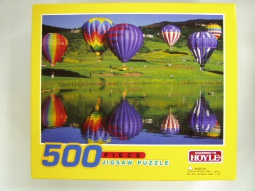 "According to Hoyle ""Balloons in Snowmass"" 500 Piece Puzzle - 1"