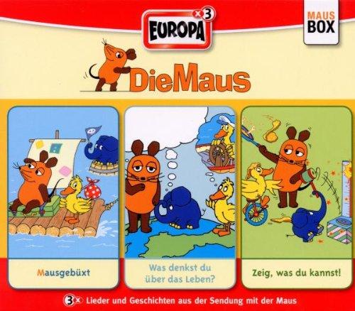 MAUS,DIE 05/3ER BOX-FOLGE 13-15