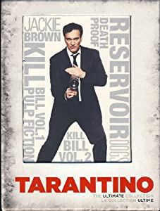 Quentin Tarantino - The Ultimate Collection (Boxset), Includes: Reservoir Dogs, Pulp Fiction, Jackie Brown, Kill Bill Vol. 1 & 2 and Death Proof