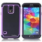 CaseMore Purple Plastic + Silicon Mat...