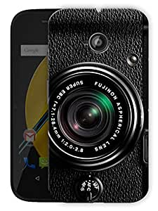 """Camera Photography Love Printed Designer Mobile Back Cover For """"Motorola Moto E"""" By Humor Gang (3D, Matte Finish, Premium Quality, Protective Snap On Slim Hard Phone Case, Multi Color)"""