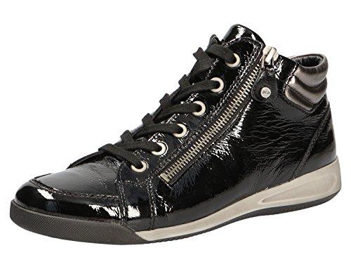 ara, Sneaker donna Nero Nero/Vernice 37