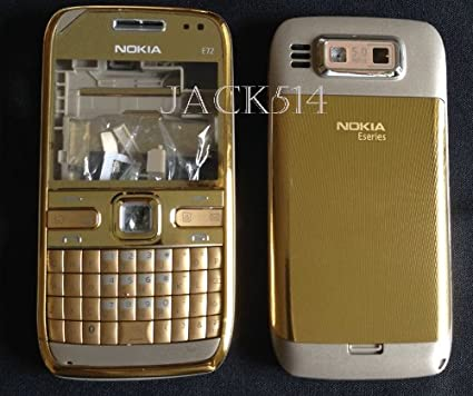 Amazon.com: New Full Housing Faceplate Cover Case For Nokia E72 ...