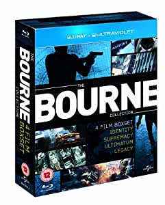 The Bourne Collection [Blu-ray] [2002] [Region Free]