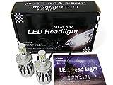 モデル信玄 簡単取付LEDヘッドライト/フォグランプ H4 Hi/Lo 視界良好 5500K 1年保証LED-G-H4-3000LM