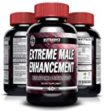 Nutra Rise Extreme Male Enhancement Supplement All Natural with Pure Maca Root, L-Arginine & Tongkat Ali Powder, Top Rated Testosterone Booster, Highest Grade, Increase Libido, Stamina, Size and Energy