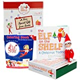 Elf on the Shelf Blue Eyed Boy with Bonus An Elf Story Coloring Book - Direct From North Pole in Limited Edition Official Gift Box