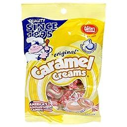 Goetze\'s Caramel Cream, 5-Ounce Bags (Pack of 12)