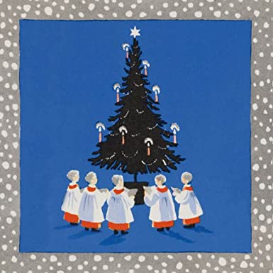 Choir Boys Pack of 10 Christmas Cards (Square)||EVAEX||RF10F