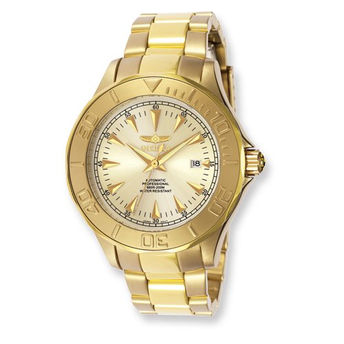Mens Invicta Ocean Ghost III Gold-plated Watch