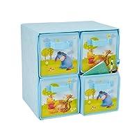 Decofun, Disney Winnie the Pooh Four Drawers Storage Box